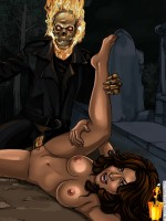 Eva Mendes sex with monster - Eva Mendes Famous Comics