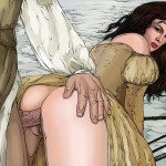 Cool drawn anal - Super Stars open ass & pussy! - Adult Comics Famous Comics