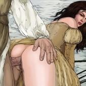 Famous Comics : drawn anal sex