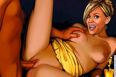 Hollywood sex comics with Kate Gosselin