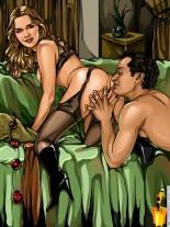 Famous Porno Comics - Celebs Porn