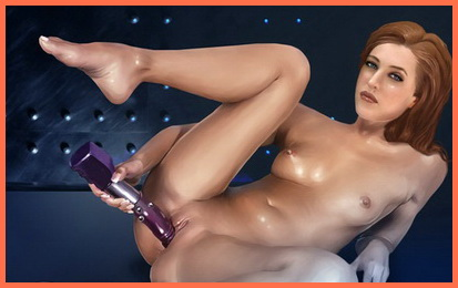 Famous X-files in porn